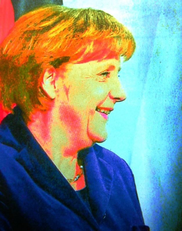 Angela Merkel Fotoarbeit