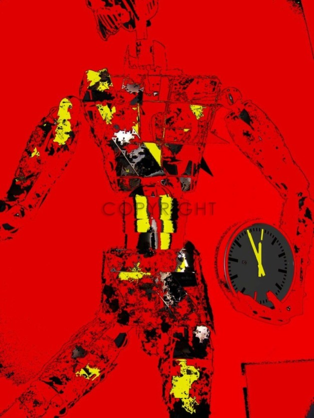 Lee Eggstein  5vor12  140x180  cm   €  12600 ,-     Acryl auf Leinw.      oder   als  preiswerte Reproduktion in versch. Größen  in unserem Online Shop zu kaufen