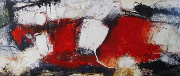 Petra Lorch  - 9.149 - ohne Titel - 70 x 140 - 1