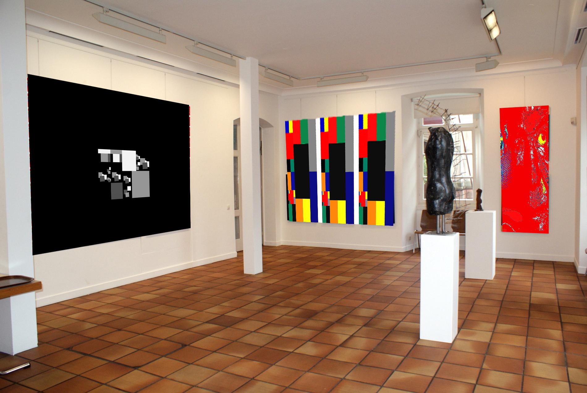 Lee Eggstein / Abstrakte ,moderne Malerei / Architektur / Menschen / Natur  / Im Onlineshop Zu Kaufen / Mitglied Der Künstlergruppe EKABA