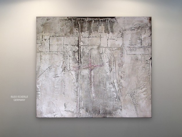 White Field 127 x 106 cm