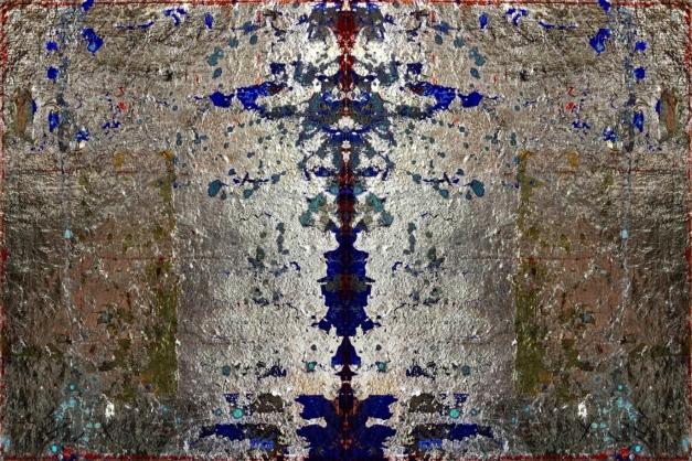 Blattsilber blau gespiegelt-1-1