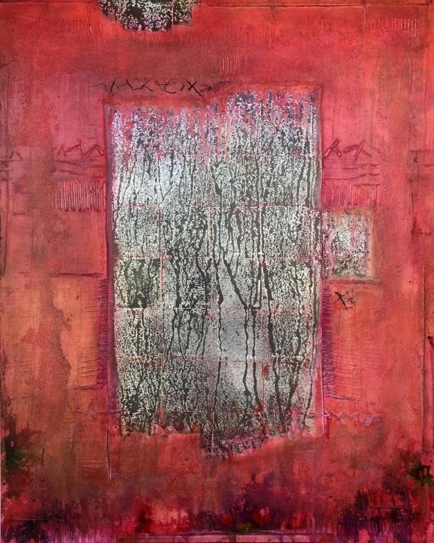 Silver Leaf_1 80 x 100 cm