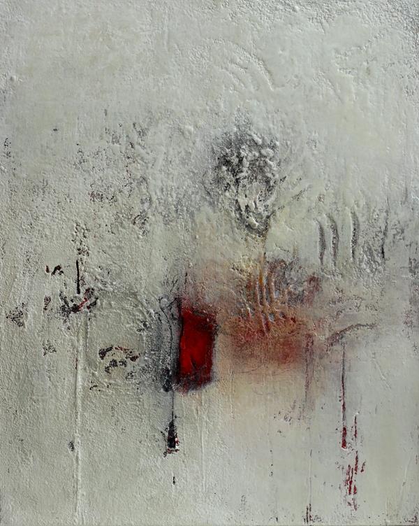 Komposition 9.100 - 80x100 - Mischtechnik auf Leinwand - IMG_9110