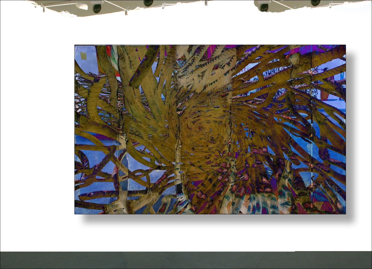 Art Exhibition Photo Collage 1 Stahl Drähte