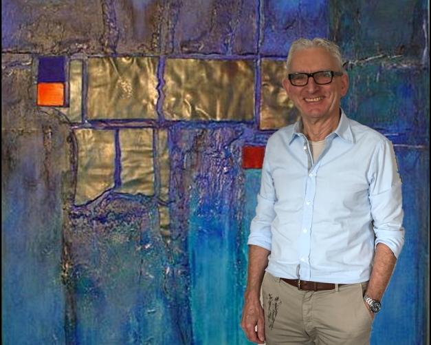 Rudi Eckerle blau