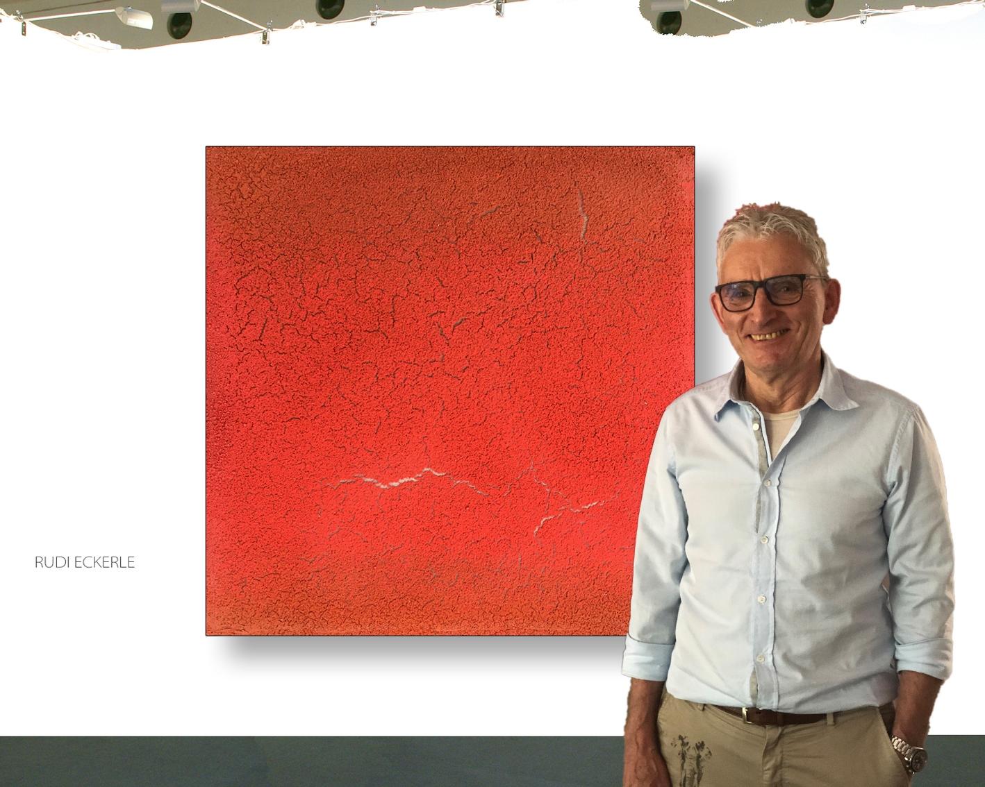 Rudi Eckerle Red Monochrome