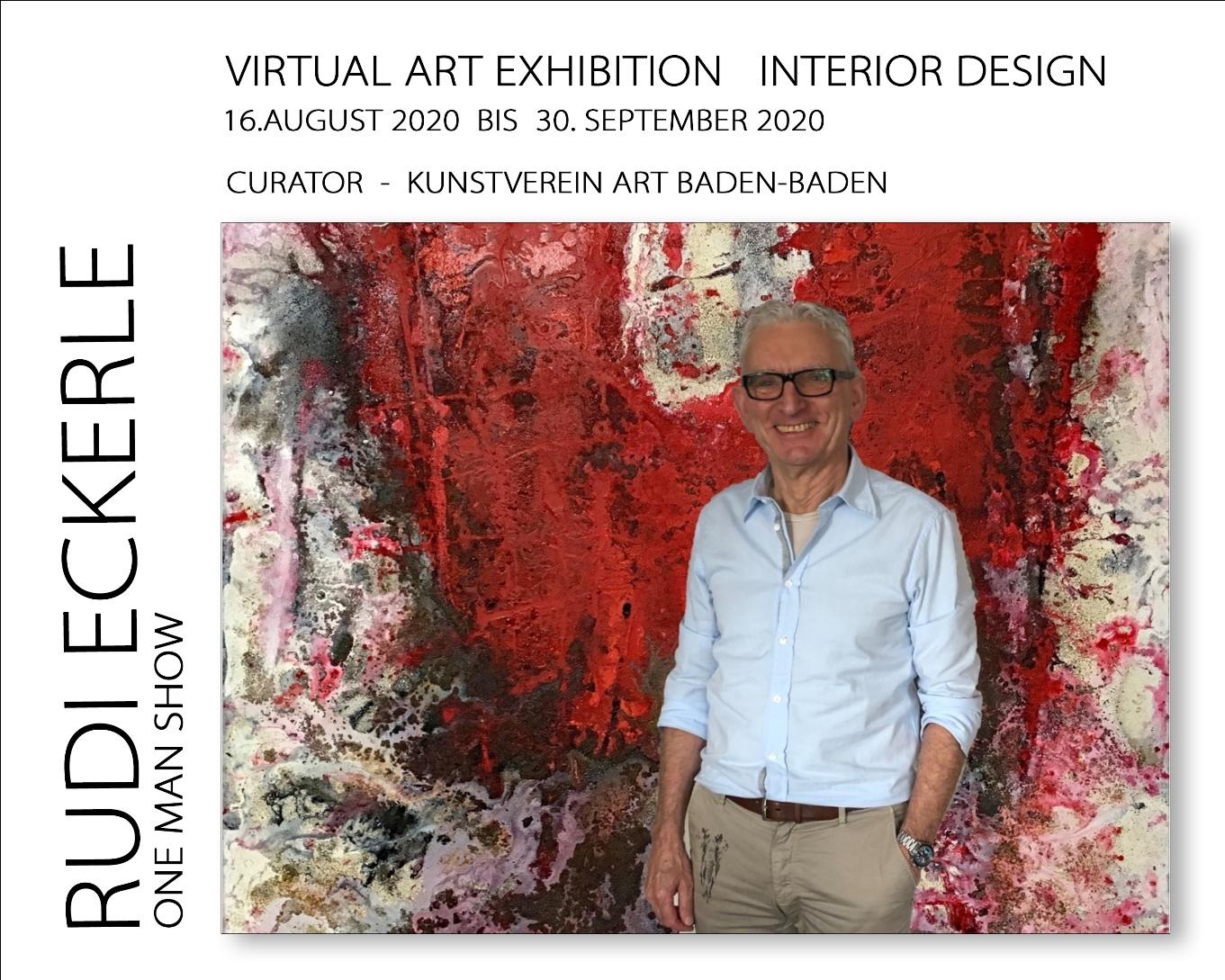 Plakat 1 Rudi Eckerle Exhibition August - September kleiner