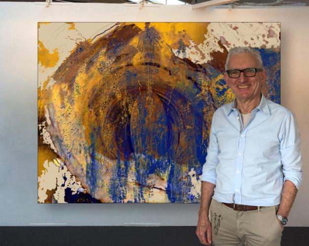 Rudi Eckerle Overpainting