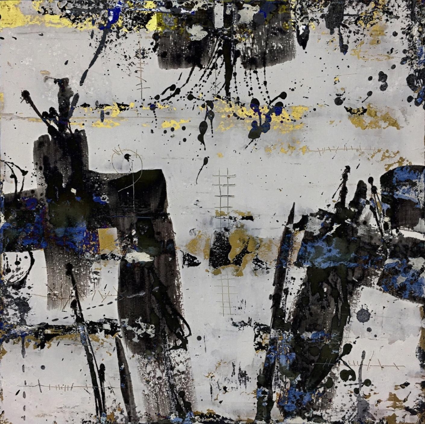 EC17-07_schwarz weiß-1 40 x 40 x 2 cm