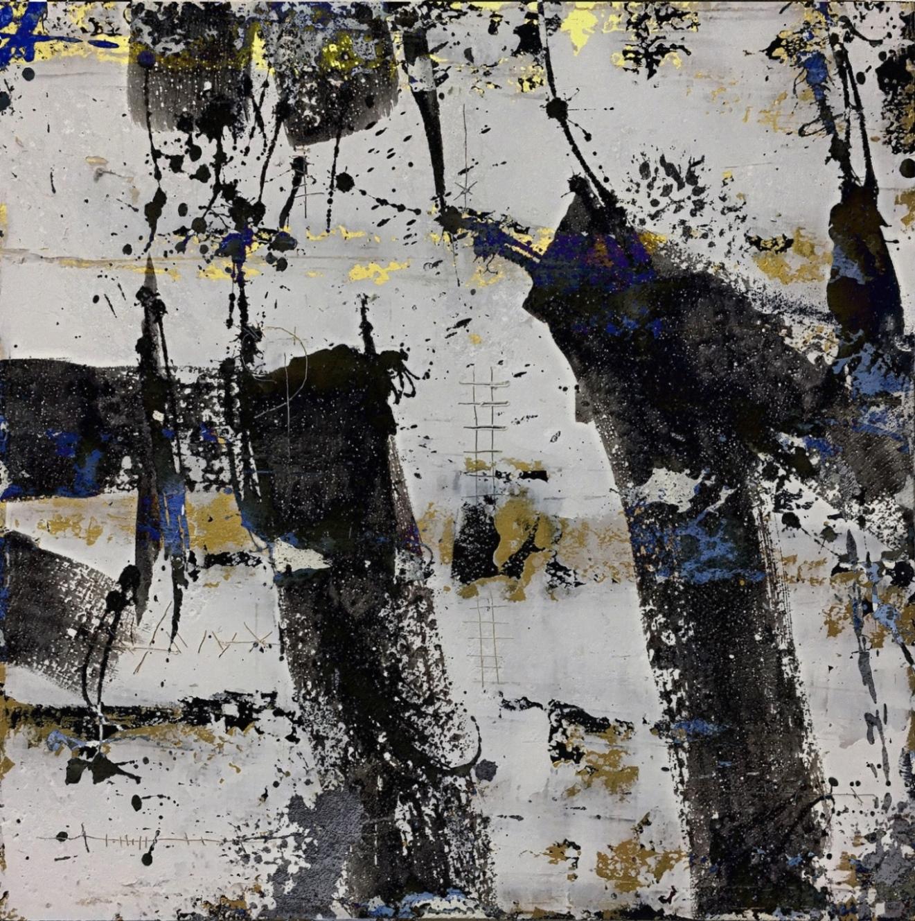 EC17-08_schwarz weiß-2 40 x 40 x 2 cm