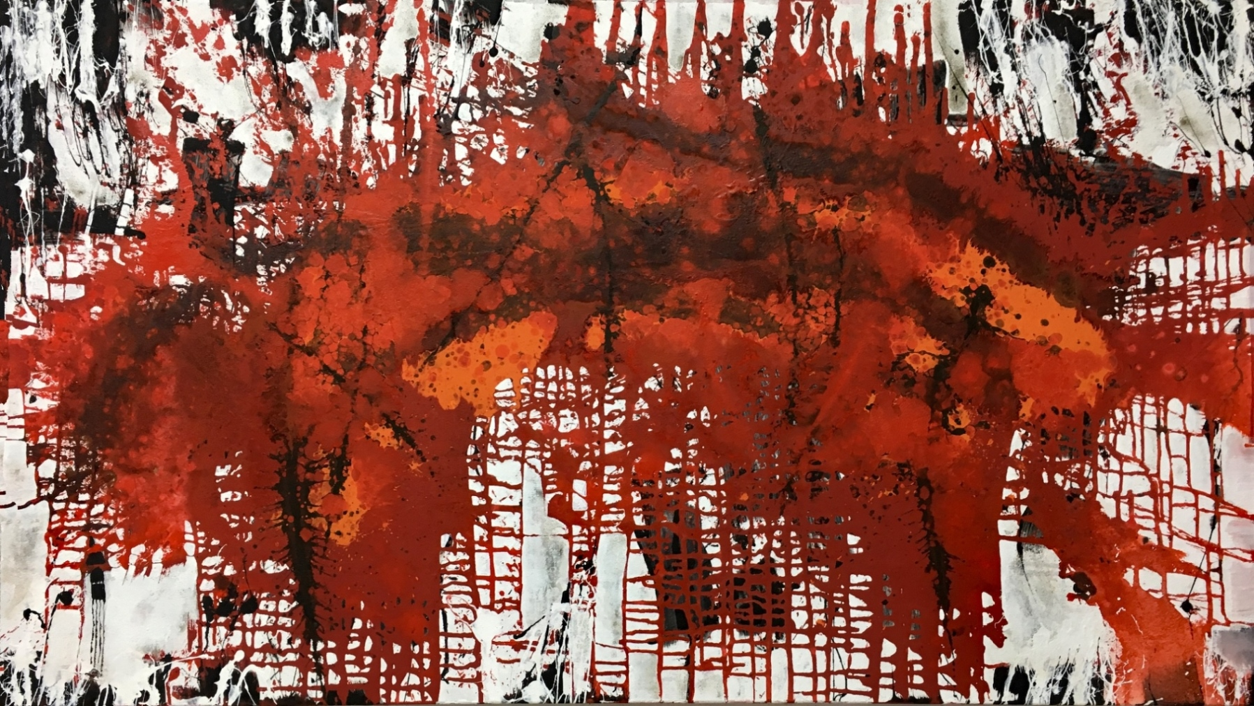 Red Stripe 160 x 90 cm