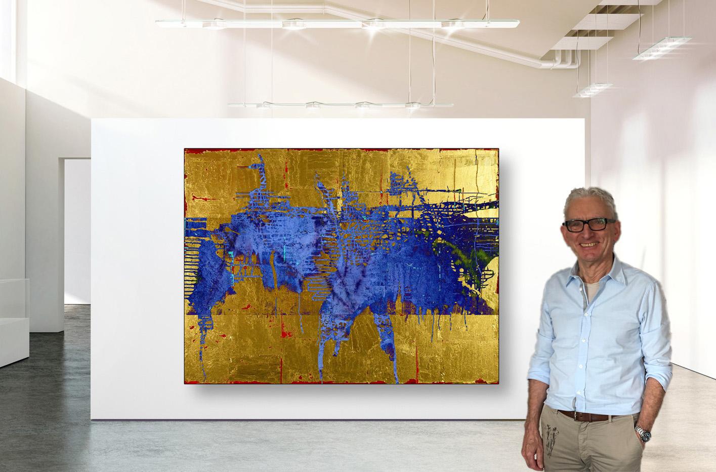 Gallery Gold Blau