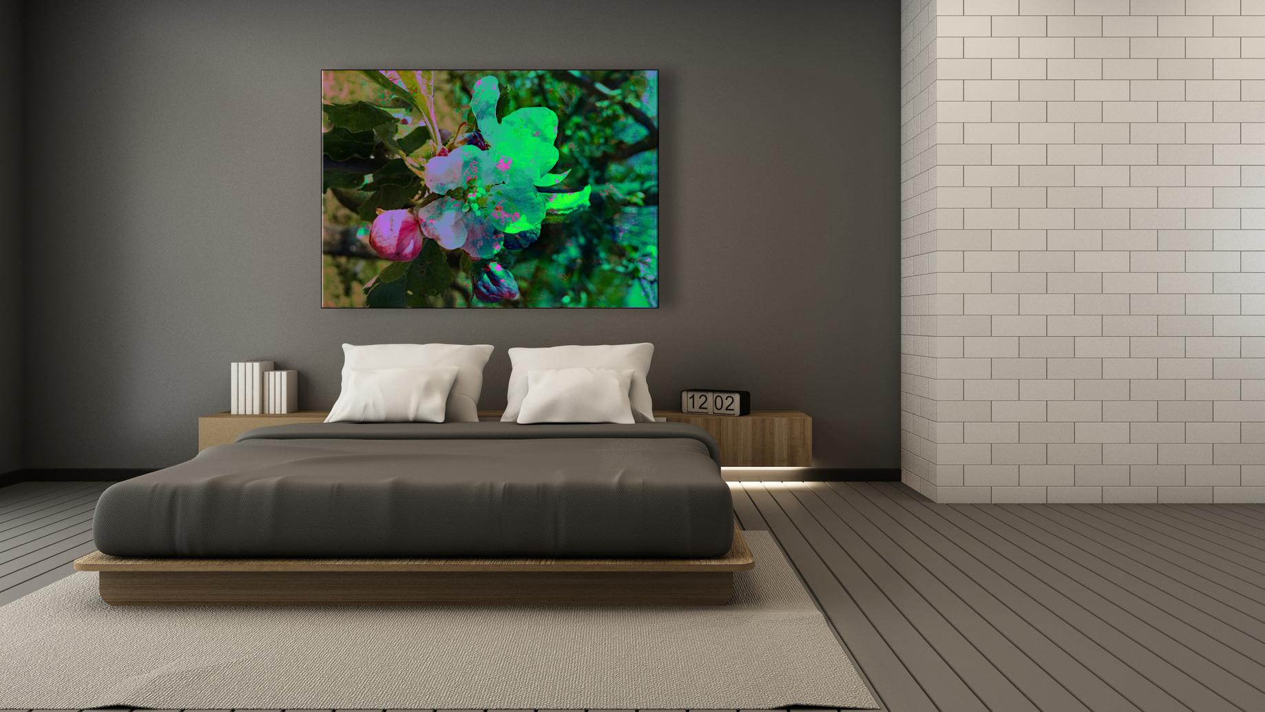 Bedroom design modern & Loft - 3D render