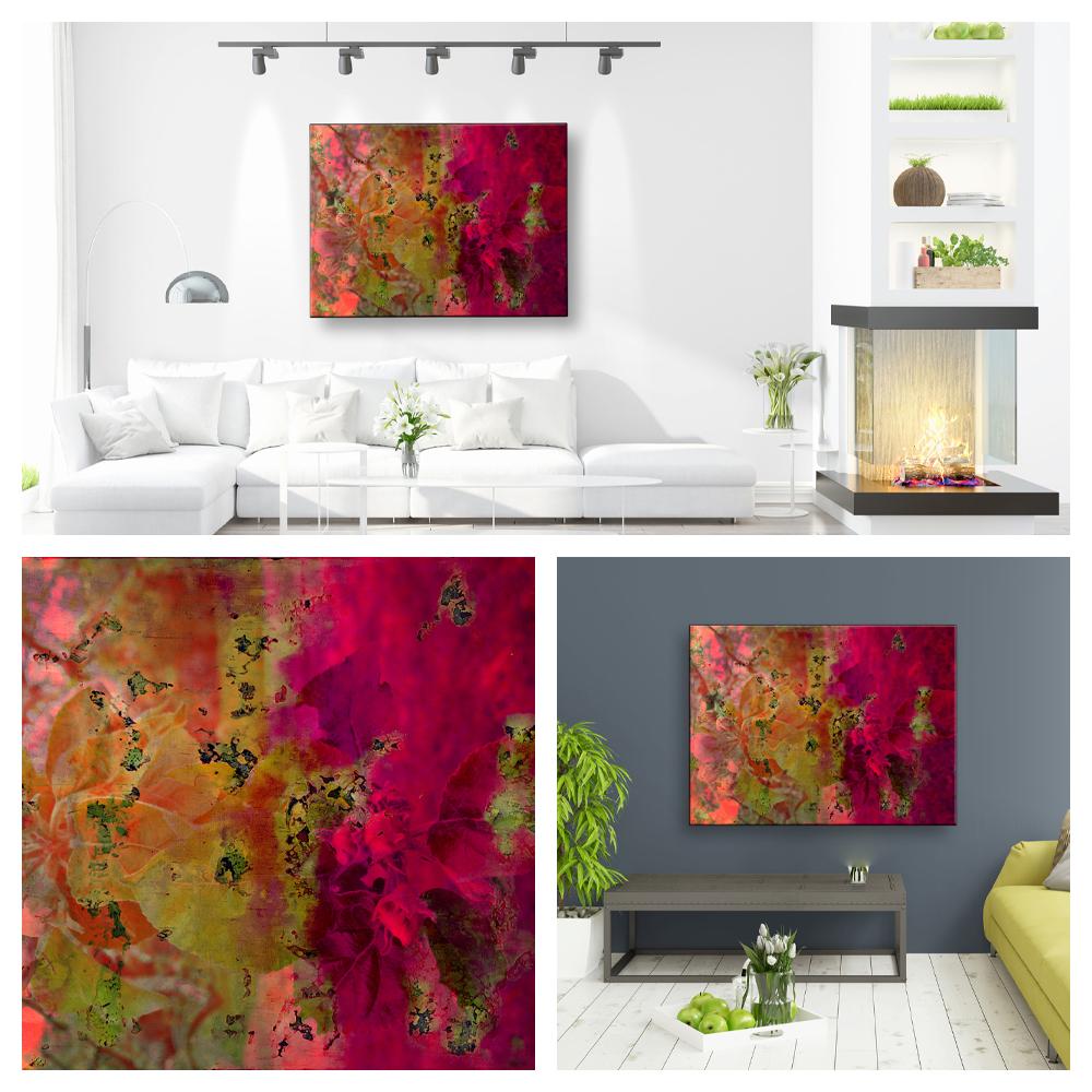 Wohnraum Landscape-Collage