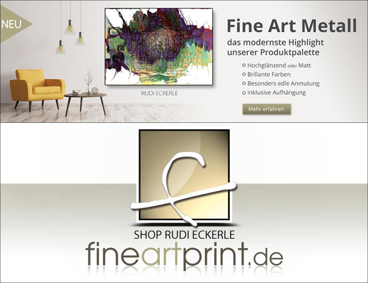 Fine Art Metall Logo Rudi