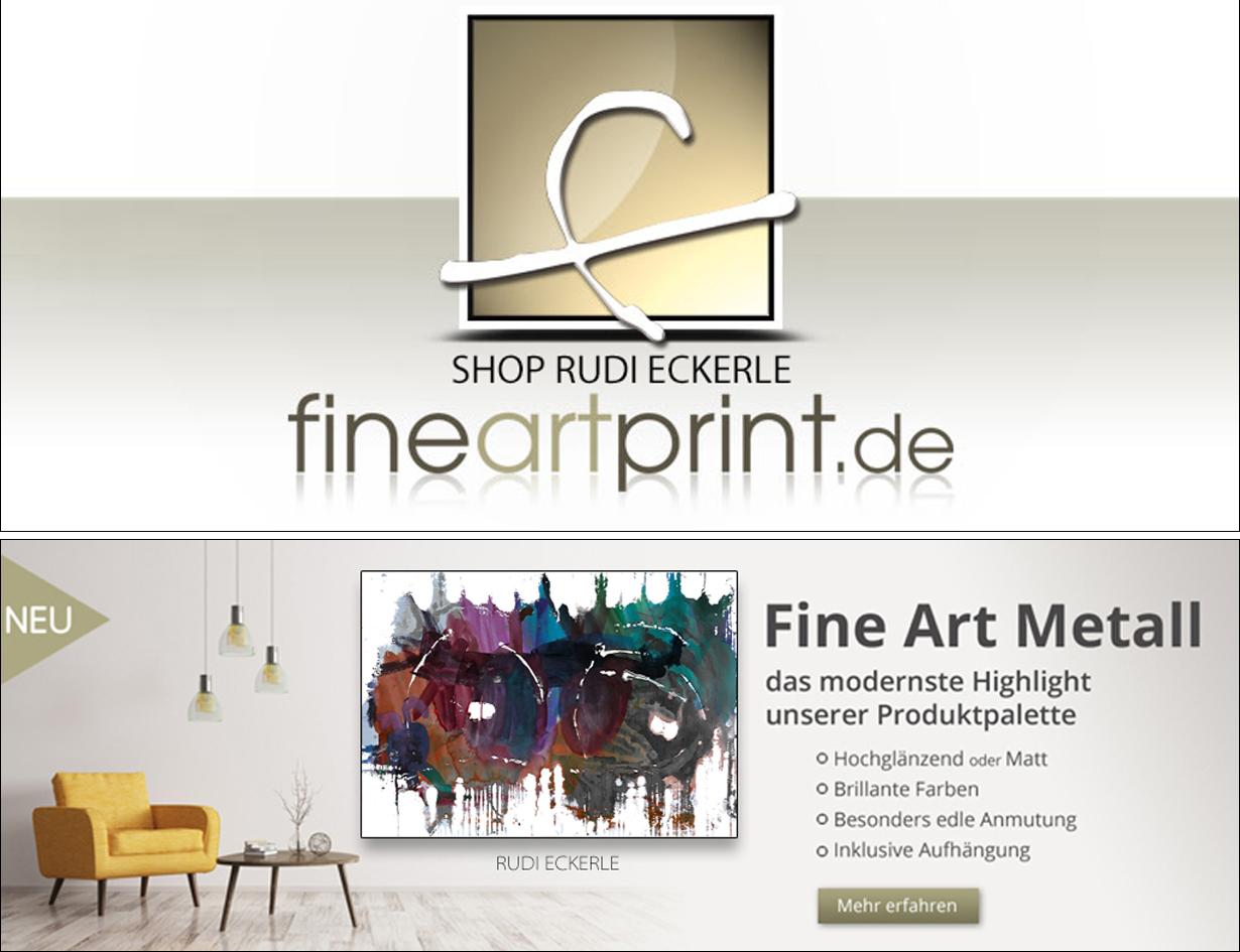 Katharina + Rudi Fine Art Metall