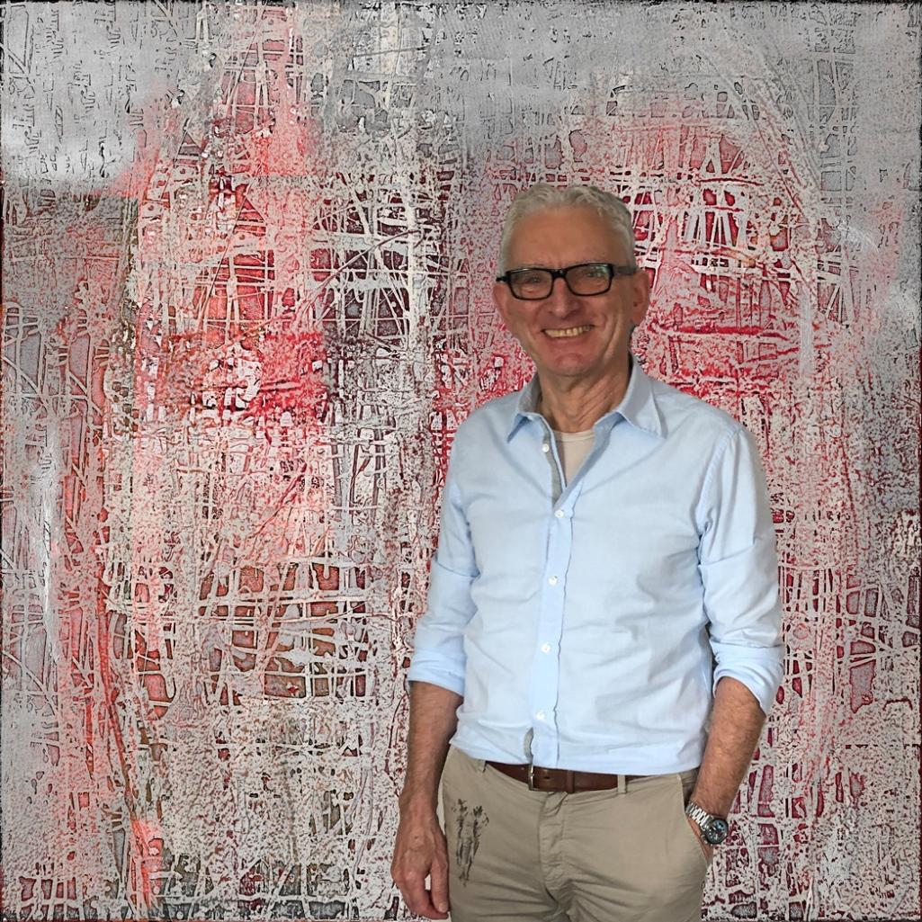 White Stripe Red Rudi Eckerle