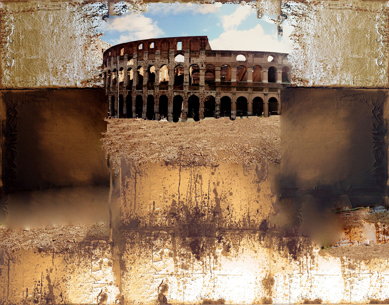 C2-Rudi Eckerle Kolosseum Amphitheater Rom
